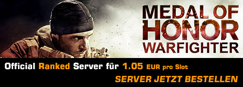 Medal of Honor: Warfighter Ranked Server